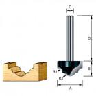 Фреза пазовая фасонная Makita R2.38 12.7х9.5х8х32 (D-11069)